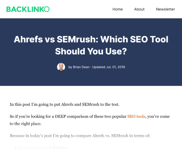 senioriz ahrefs vs semrush